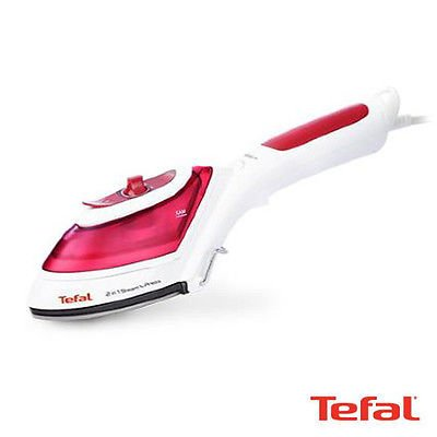 Tefal-Garment-Steamer-Steam-Iron-Handheld-2in1-Portable-Sterilization-Dv8610-0