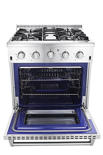 Thor-Kitchen-2-Piece-Kitchen-Package-with-30-Pro-Style-4-Burner-Stainless-Steel-Gas-Range-and-30-Under-Cabinet-Range-Hood-Stainless-Steel-0-2