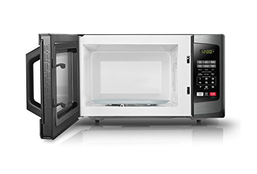 Toshiba-EM131A5C-BS-Microwave-Oven-11-Cuft-Black-Stainless-Steel-0-0