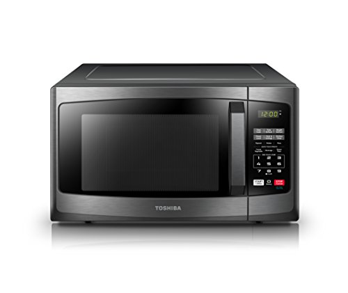 Toshiba-EM131A5C-BS-Microwave-Oven-11-Cuft-Black-Stainless-Steel-0-1