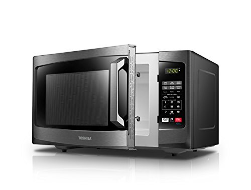 Toshiba-EM131A5C-BS-Microwave-Oven-11-Cuft-Black-Stainless-Steel-0-2