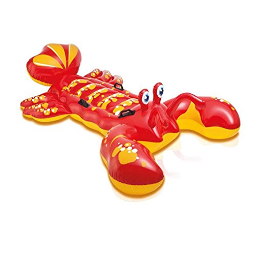 Transer-Inflatable-Lobster-Floating-Mat-Swimming-Pool-Float-Water-Raft-Swim-Ring-Lounge-Fun-Toy-213-x-137cm-0-0
