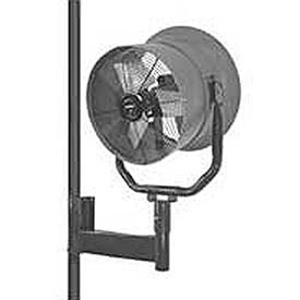 Triangle-Engineering-24-Horizontal-Mount-Fan-With-Poly-Housing-1-Hp-5900-Cfm-3-Phase-0