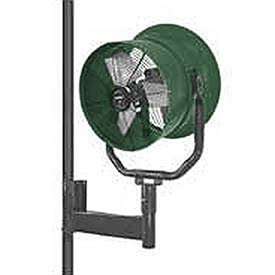 Triangle-Engineering-30-Horizontal-Mount-Fan-With-Poly-Housing-1-Hp-10600-Cfm-Single-Phase-0