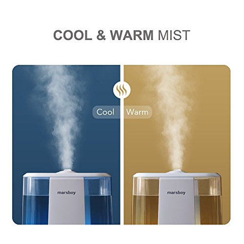 Ultrasonic-Cool-and-Warm-Mist-Humidifiers-marsboy-6L-16-GAL-Anti-Mold-Aroma-Diffuser-Air-Diffuser-Topside-Water-Refill-Super-Quiet-Operation-Ambient-Night-Light-Easy-Cleaning-for-Baby-Adults-0-0