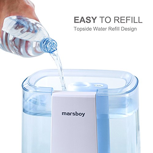 Ultrasonic-Cool-and-Warm-Mist-Humidifiers-marsboy-6L-16-GAL-Anti-Mold-Aroma-Diffuser-Air-Diffuser-Topside-Water-Refill-Super-Quiet-Operation-Ambient-Night-Light-Easy-Cleaning-for-Baby-Adults-0-2