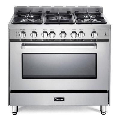 Verona-36-All-Gas-Single-Oven-Range-VEFSGG365NSS-Stainless-Steel-0