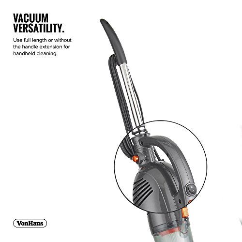 VonHaus-600W-2-in-1-Corded-Upright-Stick-Handheld-Vacuum-Cleaner-with-HEPA-Filtration-Includes-Crevice-Tool-Brush-Accessories-0-0