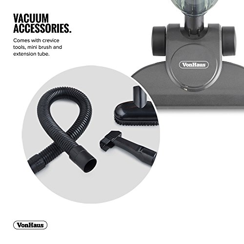 VonHaus-600W-2-in-1-Corded-Upright-Stick-Handheld-Vacuum-Cleaner-with-HEPA-Filtration-Includes-Crevice-Tool-Brush-Accessories-0-2