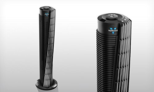 Vornado-Compact-29-Tower-Air-Circulator-with-All-NEW-Signature-V-Flow-Technology-3-Speed-Settings-and-Energy-LED-Saving-Timer-Remote-Control-Included-0-0