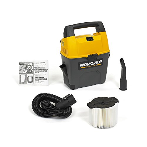 WORKSHOP-WetDry-Vacs-WS0300VA-Portable-Wet-Dry-Shop-Vacuum-for-Auto-Garage-and-In-Home-3-Gallon-35-Peak-HP-0