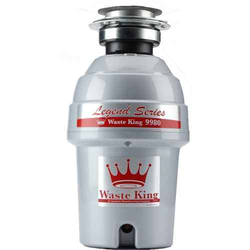 Waste-King-Legend-Series-1-HP-Continuous-Feed-Garbage-Disposal-with-Power-Cord-9980-0