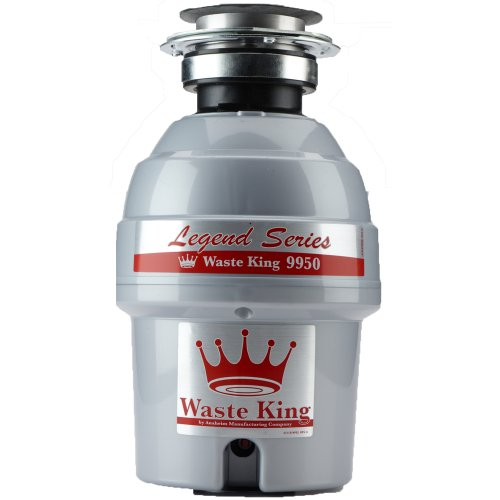 Waste-King-Legend-Series-34-HP-Continuous-Feed-Garbage-Disposal-with-Power-Cord-9950-0