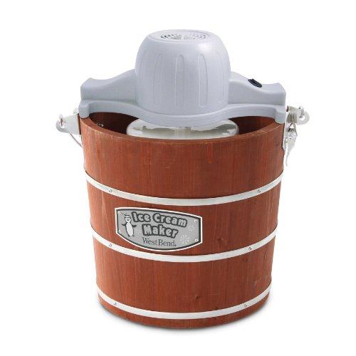 West-Bend-Wooden-Ice-Cream-Maker-4-Quart-0