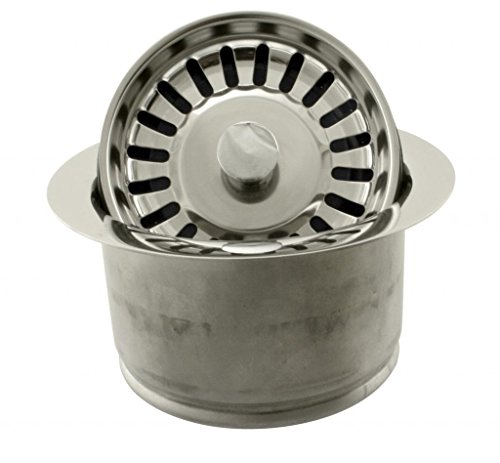 Westbrass-D2082S-05-Extra-Deep-ISE-Disposal-Flange-and-Strainer-Polished-Nickel-0