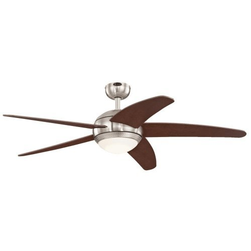 Westinghouse-7206500-Bendan-LED-52-Brushed-Nickel-with-Hammered-Accents-Indoor-Ceiling-Fan-0