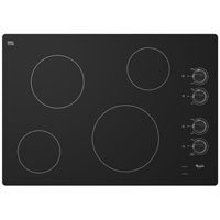 Whirlpool-W5CE3024XB-30-Black-Electric-Smoothtop-Cooktop-0