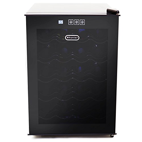 Whynter-20-Bottle-Thermoelectric-Wine-Cooler-with-Black-Tinted-Mirror-Glass-Door-0