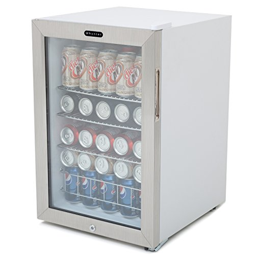 Whynter-BR-091WS-Beverage-Refrigerator-with-Lock-90-Can-Capacity-Stainless-Steel-0-2