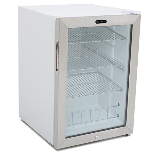 Whynter-BR-091WS-Beverage-Refrigerator-with-Lock-90-Can-Capacity-Stainless-Steel-0