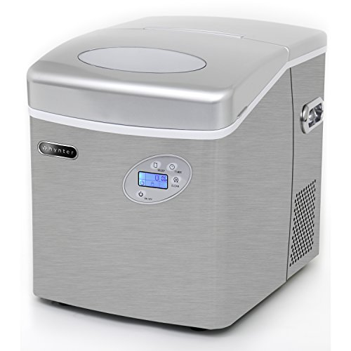 Whynter-IMC-491DC-Portable-Ice-Maker-with-Water-Connection-49-lb-Capacity-Stainless-Steel-0