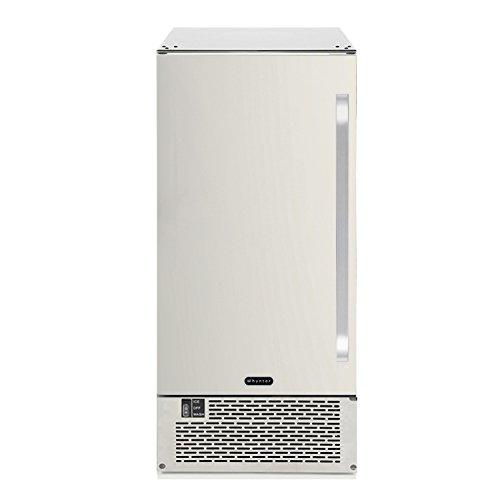 Whynter-UIM-502SS-Built-InFreestanding-50-lb-Capacity-Clear-Ice-Cube-Maker-Stainless-SteelBlack-0