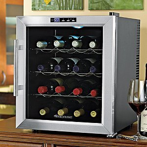 Wine-Enthusiast-272-02-17-Silent-16-Bottle-Touchscreen-Wine-Cooler-Stainless-Steel-0