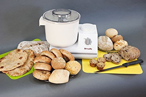 WonderMix-Deluxe-Stand-Mixer-by-WonderMill-Includes-Blender-Cookie-Whips-Lifetime-Ltd-Warranty-Bread-Dough-Mixer-Kitchen-Mixer-0-2