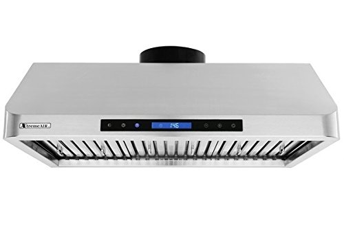XtremeAir-PX10-Under-Cabinet-Mount-Range-Hood-with-900-CFM-Baffle-FilterGrease-Drain-Tunnel-0-2