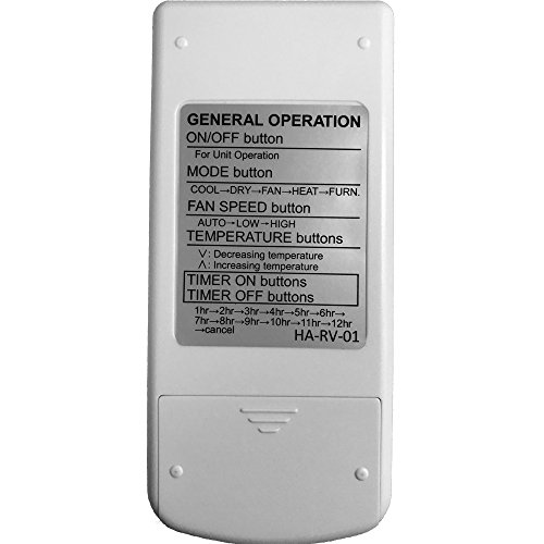 YING-RAY-Replacement-for-Carrier-Air-V-Airv-Rv-Air-Conditioners-Remote-Control-for-12-50095-00-12-50074-00-12-50152-00-68RV11302A-68RV14102A-68RV14103A-68RV14112A-68RV15102A-68RV15103A-68RV0010AA-0-2