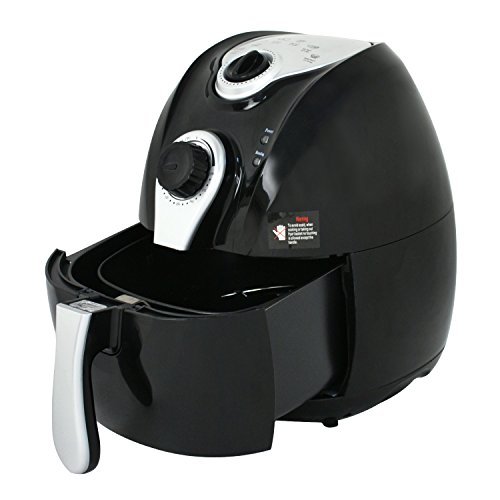 Zeny-Electric-Air-Fryer-Oil-Free-w-Temperature-Control-Detachable-Basket-and-Handle-0-2
