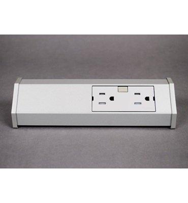 adorne-Titanium-15A-Tamper-Resistant-2-Outlet-Modular-Track-0